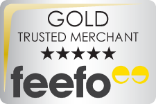 Feefo Gold Trusted
